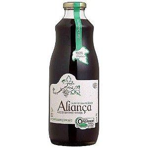 Suco De Uva Integral Tinto Orgânico Nova Aliança 1l