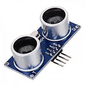 Lote com 100 unidades sensor ultrassônico hc-sr04