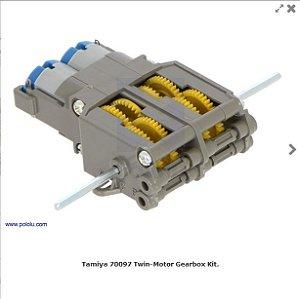 Lote com 14 unidades Tamiya Twin-Motor Gearbox Kit