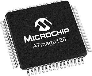 Microcontrolador ATMEGA 128-16AU SMD Lote com 34 pçs