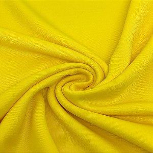 Tecido Malha Helanca Light 1,0 x 1,80 - Amarelo Canário
