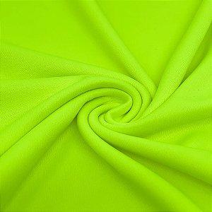Tecido Malha Helanca Light 1,0 x 1,80 - Amarelo Neon