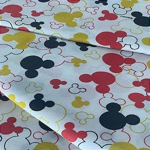 Tecido Tricoline Mickey Licenciado 1,0 x 1,50