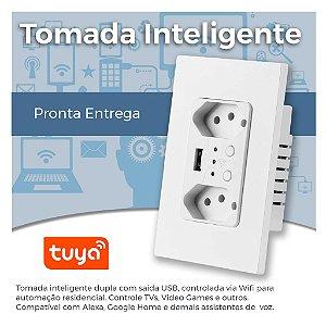 Tomada Inteligente de Parede - Wifi - Automação Residencial - Smart Home