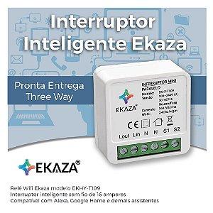 Interruptor Inteligente EKAZA - Wifi - Automação Residencial - Smart Home - EKHYT109 Mini