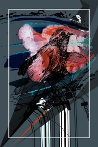 Print - Black Birds