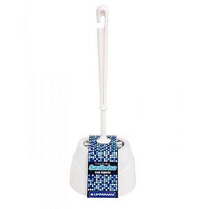 Escova sanitária com suporte  Limpamania
