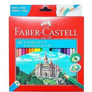 Lápis de colorir 24 unidades  Faber-Castell