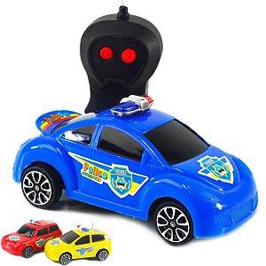 Carrinho de controle remoto Police Car