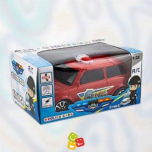 Carrinho de controle remoto Policia - Police car