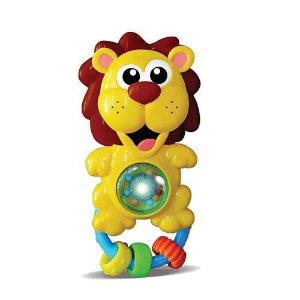 Chocalho bichinho leão - BBR toys