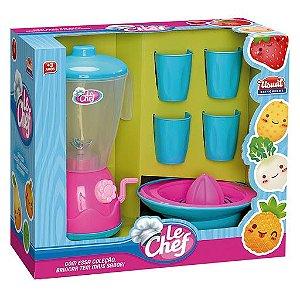 Kit liquidificador Le chef - Usual brinquedos
