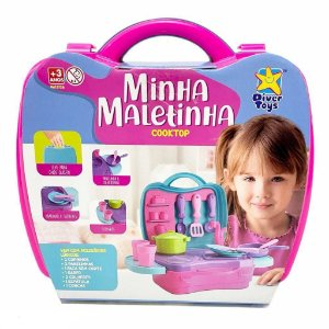 Minha maletinha cooktop - Diver Toys