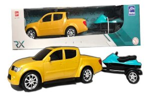 Carrinho Pick-up + Jet ski - Roma Brinquedos