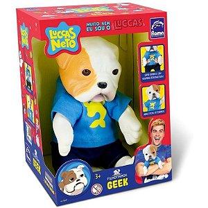 Cachorro Geek do Luccas Neto - Roma brinquedos