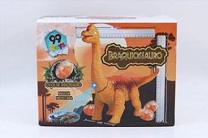 Dinossauro articulado com ovos de dinossauro - 99toys
