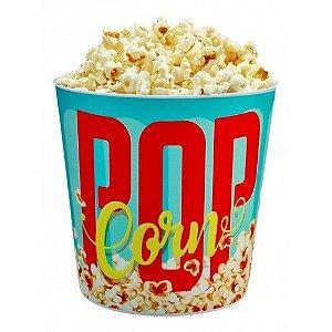 """Balde de pipoca """"pop corn"""" 3L - Usual utilidades"""