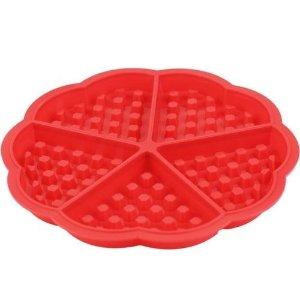 Forma de waffles silicone 17,5cm x 1,5cm  - Clink
