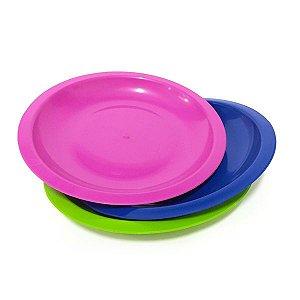 Prato de plástico fundo - Erca Plast