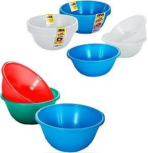 Pote de sobremesa c/ 6 peças 300ml - Erca Plast