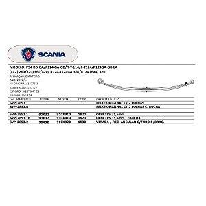 Mola Dianteira Scania P94