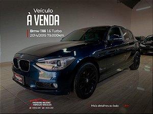 BMW 118i 1.6 SPORT GP 16V TURBO GASOLINA 4P AUTOMATICO 2014/2015  79.338km