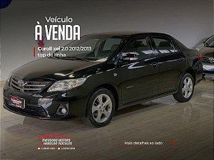 TOYOTA COROLLA 2.0 XEI 16V FLEX 4P AUTOMÁTICO  2012/2013   115.451km