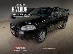 FIAT SIENA 1.0 MPI EL 8V FLEX 4P MANUAL  2010/2010  95.135KM