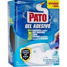 GEL ADESIVO PATO C/ APLICADOR (CX C/6 DISCOS GEL)