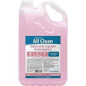 SABONETE LIQ. ALL CLEAN ANTISSEPTICO (AUDAX) 5lts