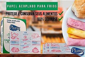 PAPEL ACOPLADO P/ FRIOS (TIPO A - MONO) CX C/500un (PLUMA)