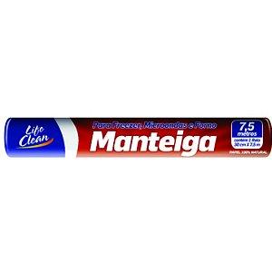 PAPEL MANTEIGA ROLO 30cm X 7,5mts (LIFE CLEAN)
