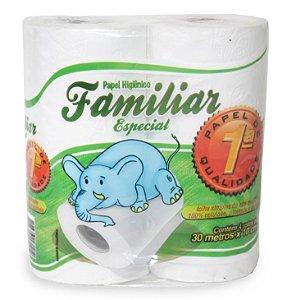 PAPEL HIG. F SIMPLES FAMILIAR ESPECIAL PCT C/4un