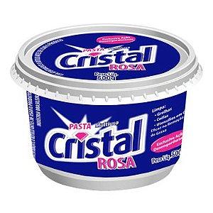 SABÃO EM PASTA CRISTAL ROSA (GTEX) 500g