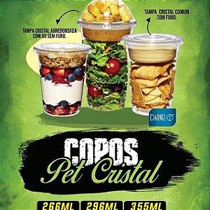 COPO PET CRISTAL 300ml (10oz) (DARNEL) PCT C/ 12un
