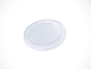 TAMPA PLAST TRANSP COPO PAPEL 330ml C/ 50UN (TPL 79 PET)