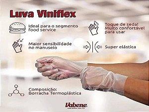 LUVA VINIFLEX S/ PO (VABENE) CX C/100UN (TAM. P)
