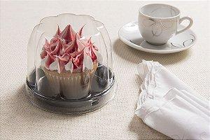 EMB. CUP CAKE BAIXO CONFEITARIA PRETO C/300UN (GALVANOTEK G690)