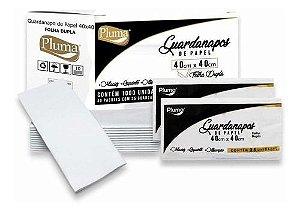 GUARDANAPO (PLUMA) RETANGULAR F. DUPLA 40X40 G (C/25fls)