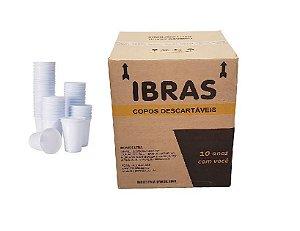 COPO DESC. 180ml PS BCO (IBRASDE) PCT C/100un