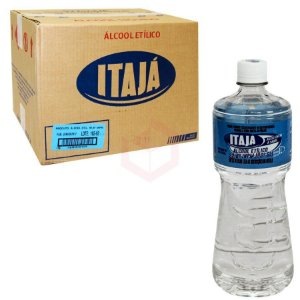 ALCOOL 92,8 (ITAJA) - 1 LITRO (CX C/12un)
