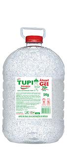 ALCOOL GEL 70% ANTISSEPTICO (TUPI) - 5 KG