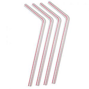 CANUDO FLEXIVEL SACHE PLASTICO (CS-305 STRAWPLAST) PCT C/500un