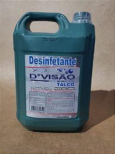 DESINFETANTE TALCO (DIVISÃO) 5lts