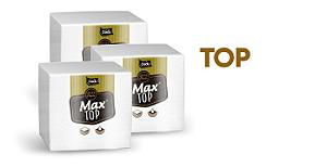 GUARDANAPO (DADU) MAX TOP F. DUPLA 22X23 P (C/50fls) CX C/80pct