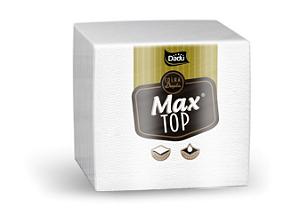 GUARDANAPO (DADU) MAX TOP F. DUPLA 33X32 G (C/50fls) CX C/60pct