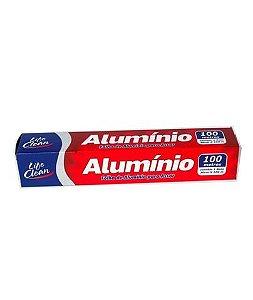 PAPEL ALUMINIO 30cm X 100mts (LIFE CLEAN)