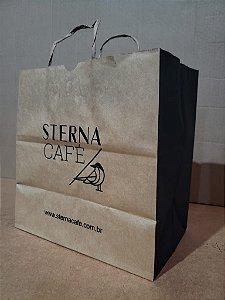 SACOLA KRAFT (27X28X16,5) STERNA CAFE 80G (UNID)