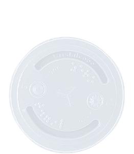 TAMPA COPO 400ml, 500ml S/ FURO (T-200 CRISTALCOPO) CX C/1000un