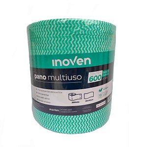 PANO MULTIUSO ROLO 300MTS X 30CM (INOVEN) VERDE